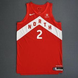 Kawhi Leonard Red NORTH Nike Jersey
